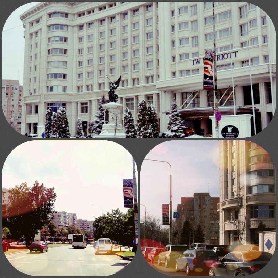 JW Marriott Grand Hotel Bucharest DentalMed Flags