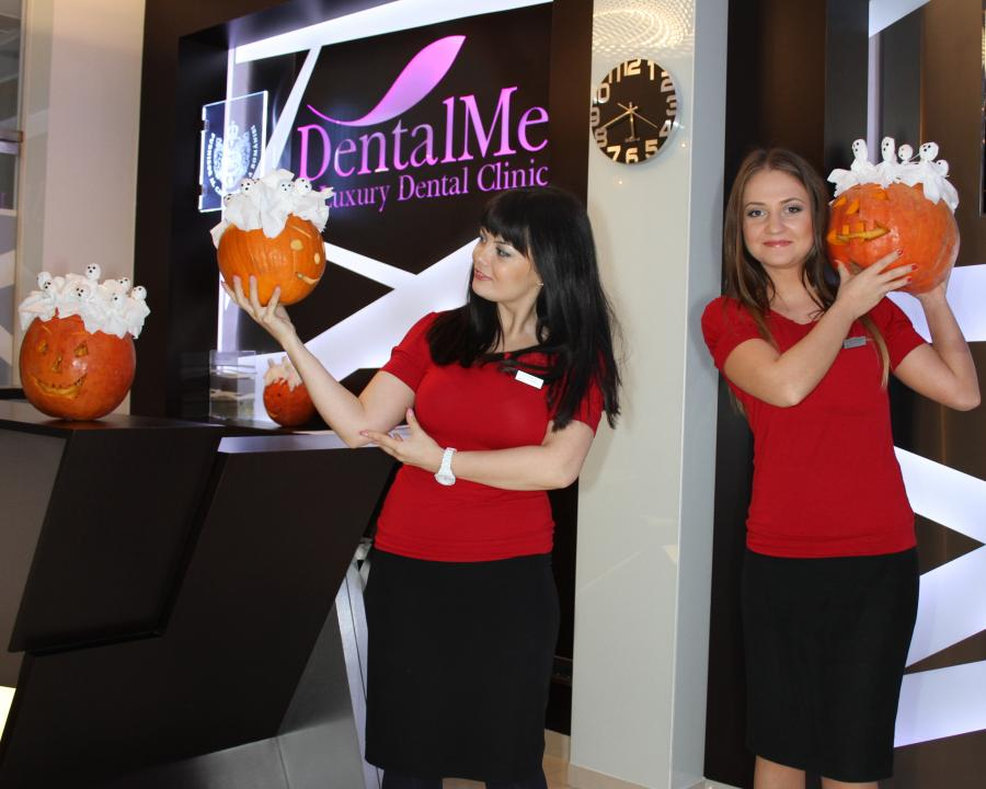 Celebrating Holloween at DentalMed 2013