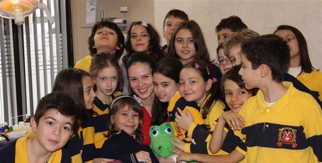 Pro Ingenio School visits DentalMed December 2010