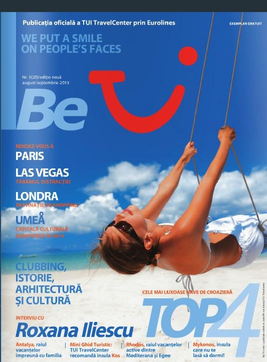 Be TUI Magazine August 2013