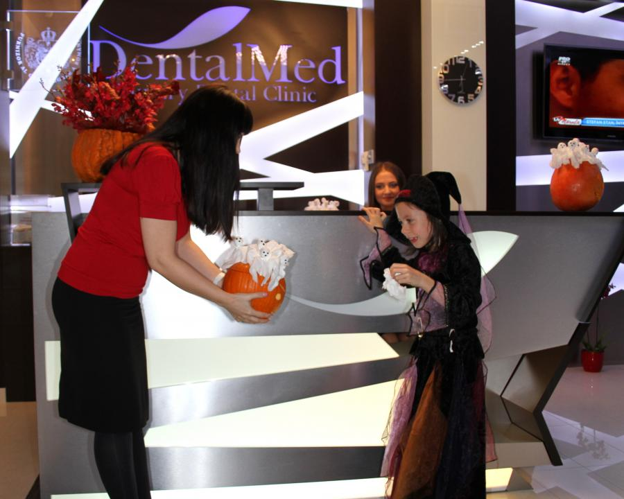 Trick or Treat the Little Witch at DentalMed
