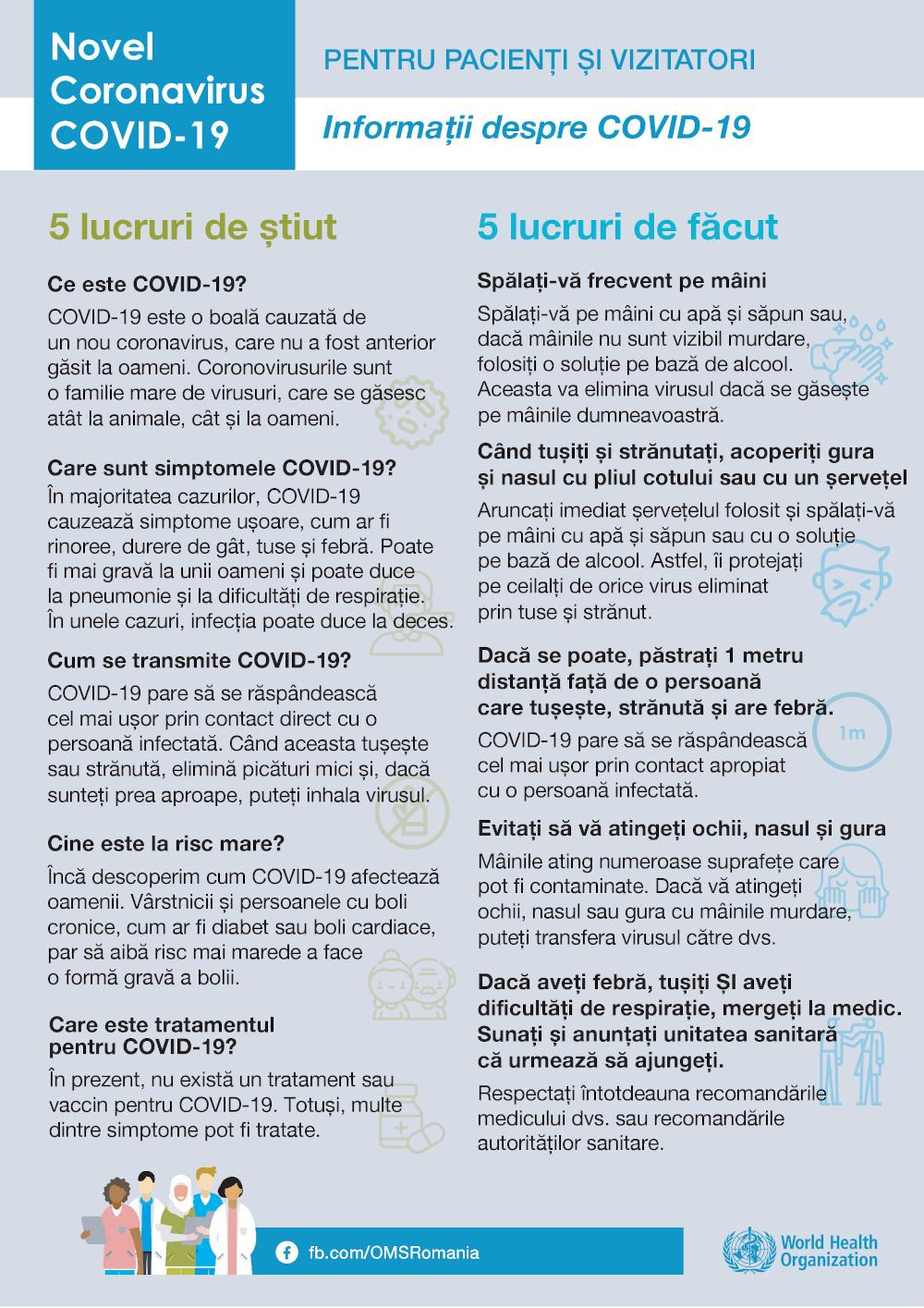 Recomandari pentru personalul medical 5 Urgente stomatologice in Starea de Urgenta nationala