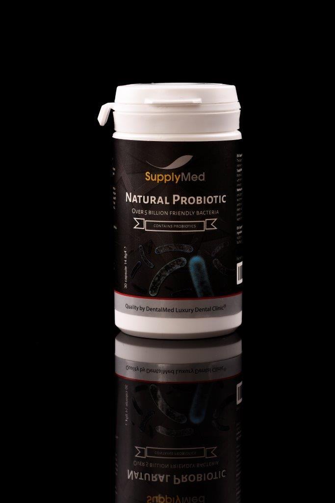 Natural Probiotic - contine Probiotics - recuperare dupa implant dentar