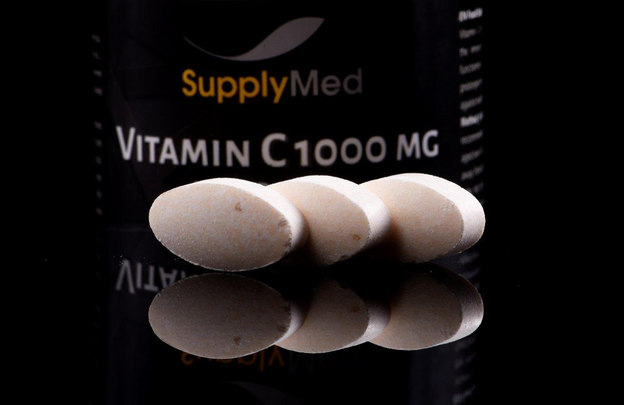 VITAMIN C 1000 mg TIME REALEASE Recuperare implant dentar
