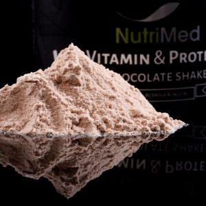 Vitamin & protein chocolate shake - recuperare dupa implant dentar