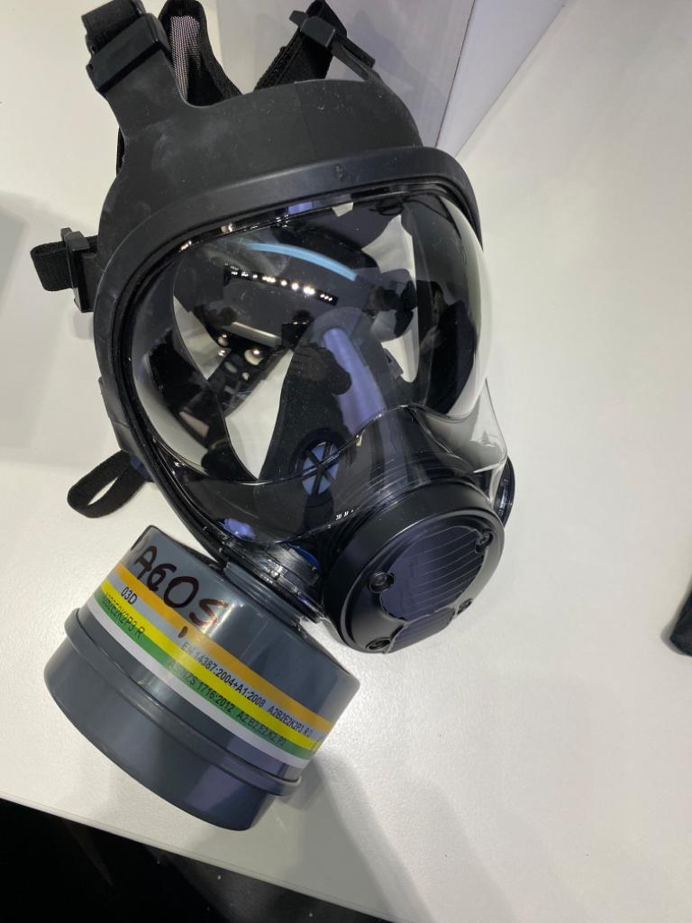 Masca de protectie militara echipament protectie anti-covid urgente stomatologice