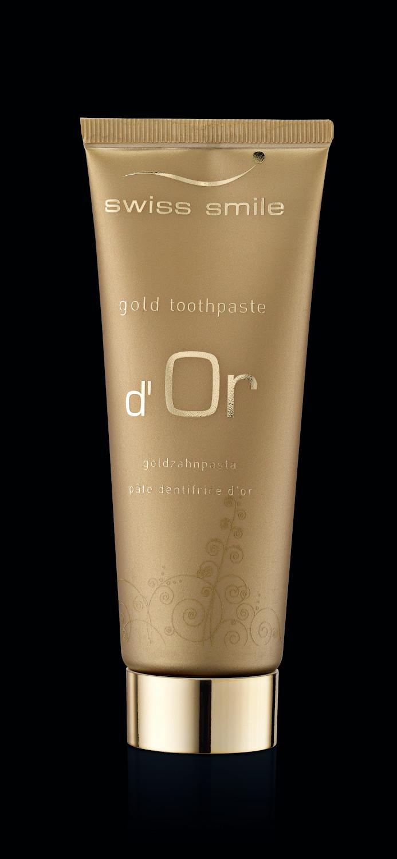 negru 91412957 dOr toothgel D'or gel dentar fara fluor si periuta de dinti