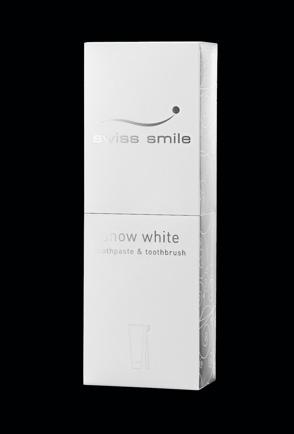 negru 91600009 snow Snow white pasta de dinti