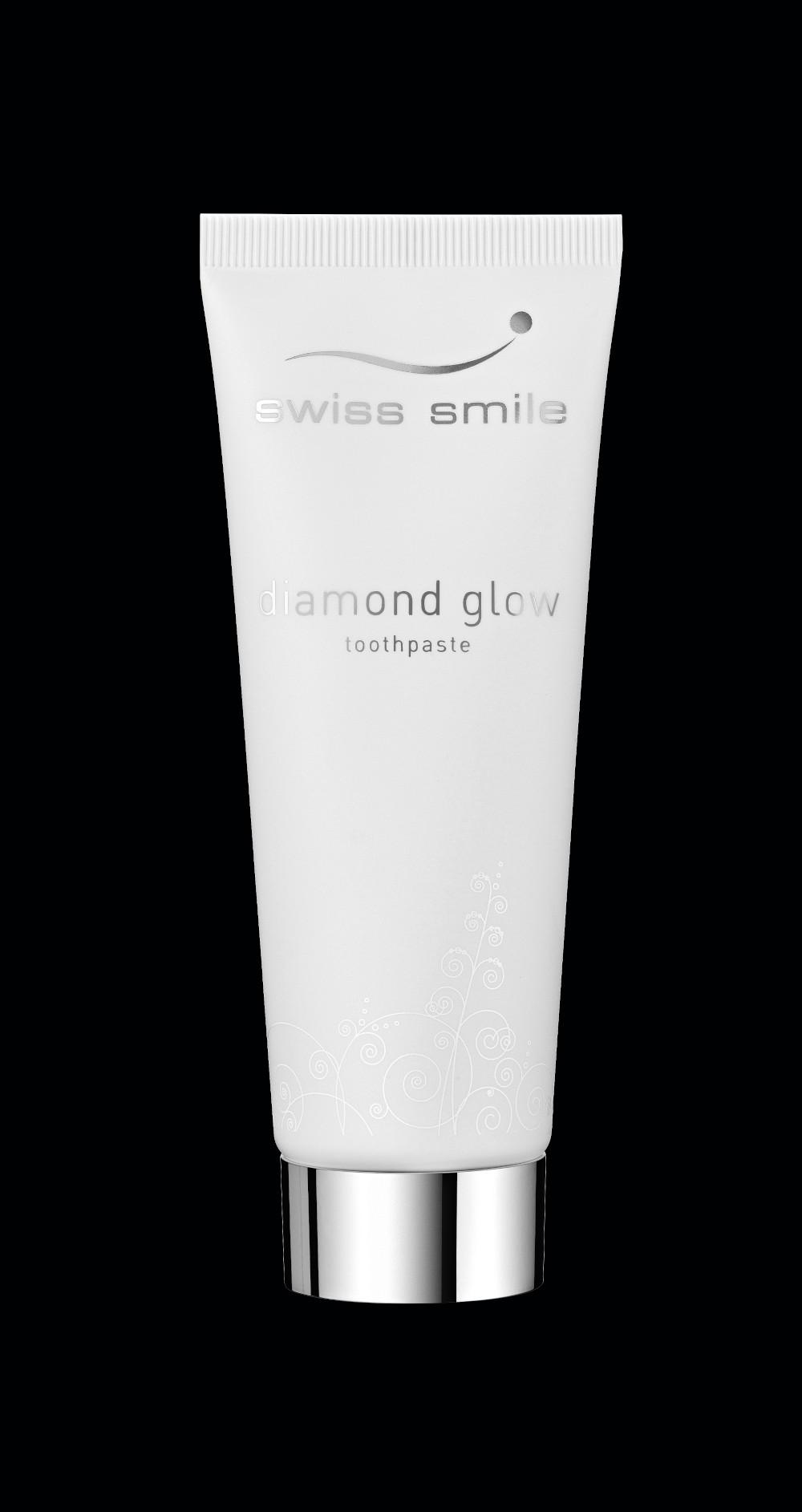 negru 91600015 diamond glow toothpaste Diamond glow pasta de dinti fara fluor