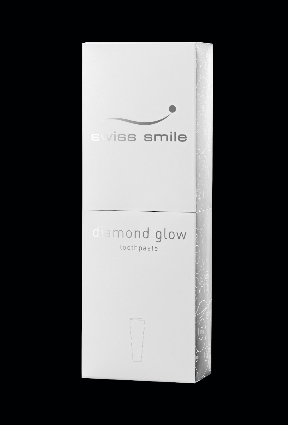 negru Diamond glow pasta de dinti fara fluor