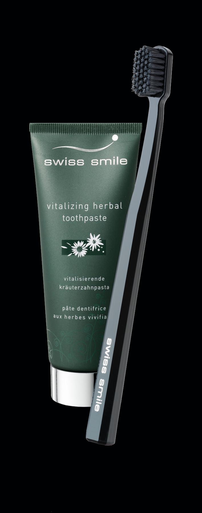 negru 91911950 herbal bliss toothpaste toothbrush set Herbal bliss pasta de dinti si periuta de dinti
