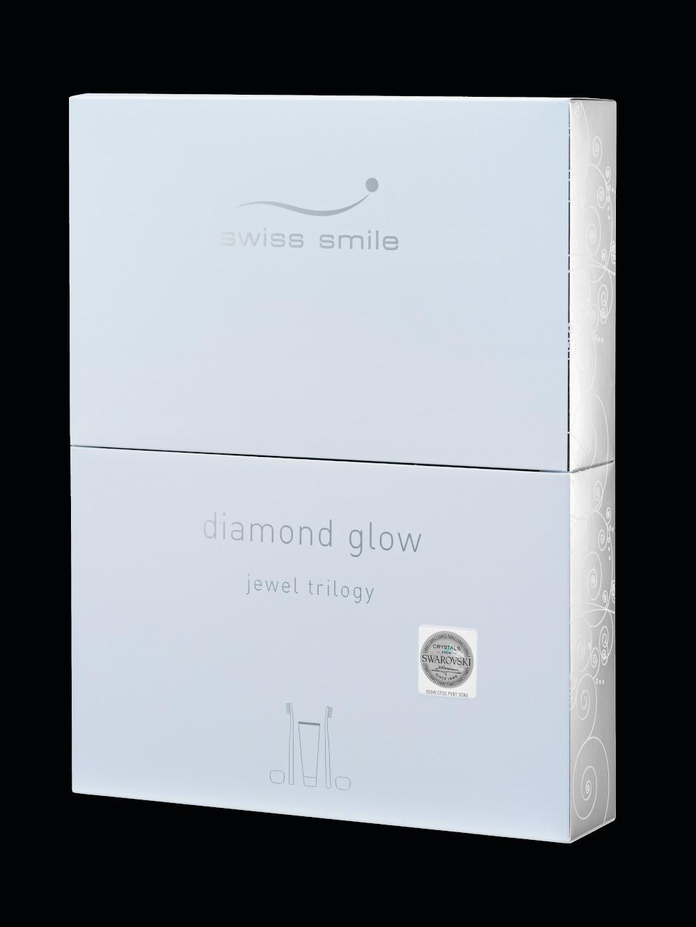 negru diamond glow gift Strălucire de diamant cu o trilogie de bijuterii