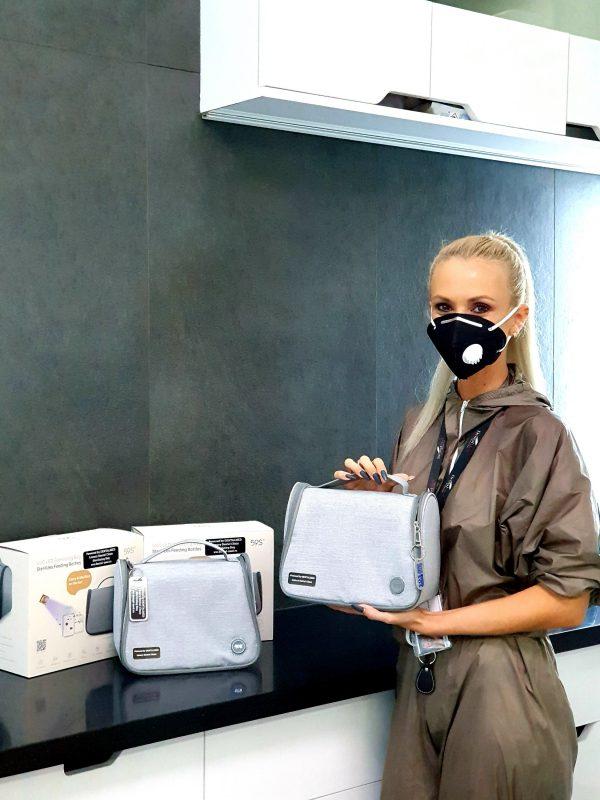 Sterilizare portabila cu Geanta UV