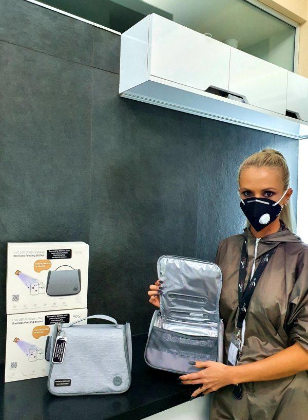Geanta UV Sterilizare Portabila