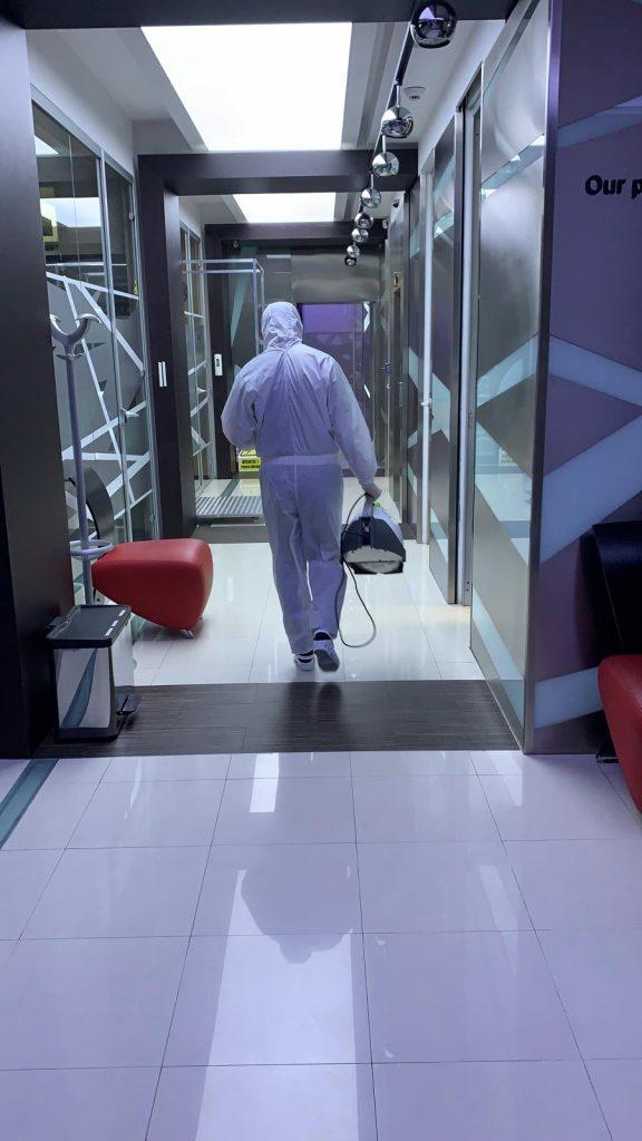Dezinfectare cabinet stomatologic covid19