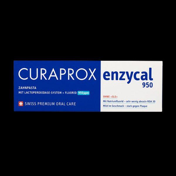 pasta de dinti enzycal 950pp cu enzime si fluor 1 Pasta de dinti Enzycal 950pp cu enzime si fluor