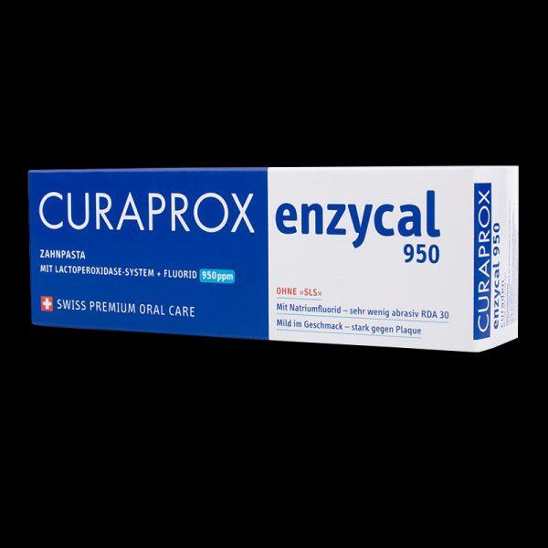 pasta de dinti enzycal 950pp cu enzime si fluor 3 Pasta de dinti Enzycal 950pp cu enzime si fluor