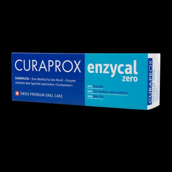 pasta de dinti fara fluor enzycal zero 3 Pasta de dinti fara fluor Enzycal Zero