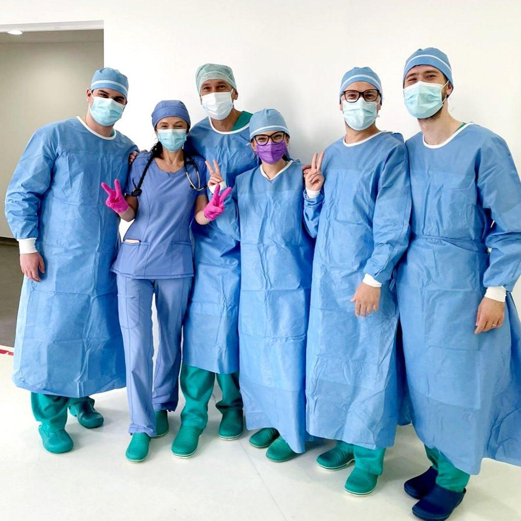 Echipa anestezie generala stomatologie