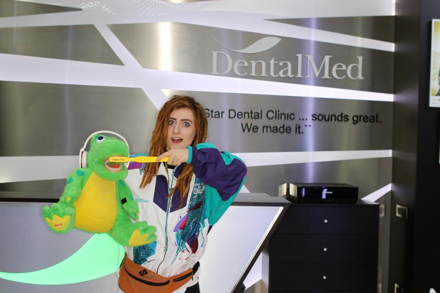 Bianca Adam aka Tequila at DentalMed