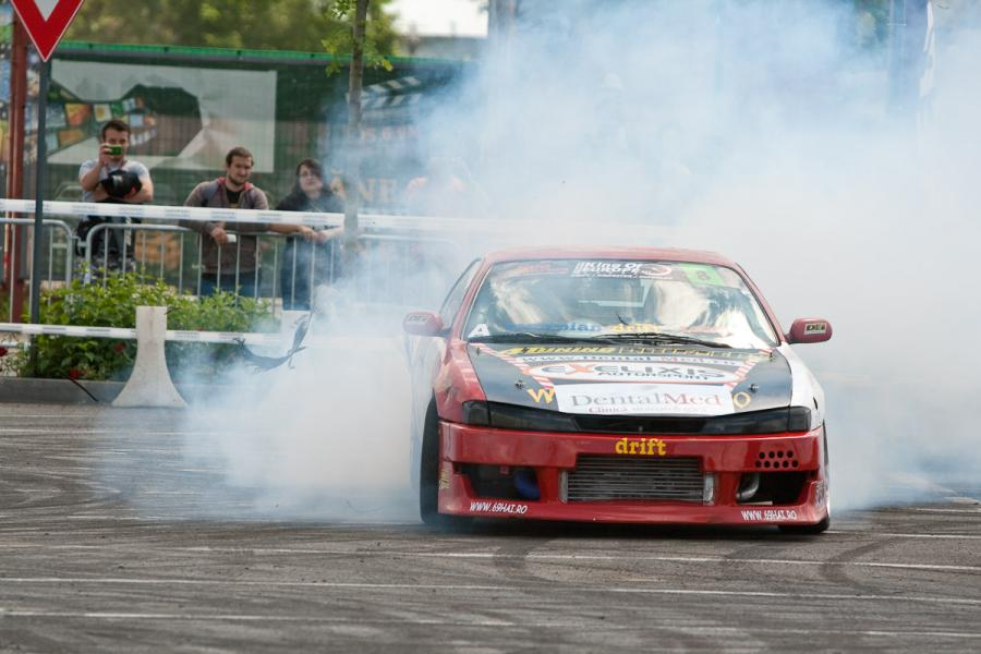 Drifturi,%20moto%20Baneasa%20Shopping%20City 204 Performanta in drift - pilot Sorin Ene
