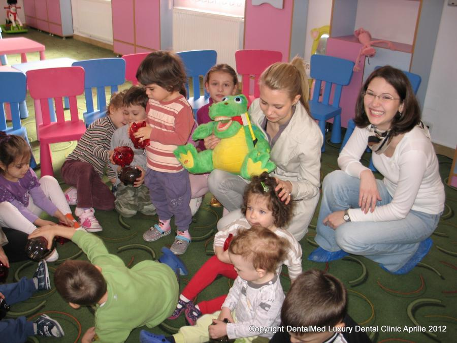 Visiting Top Kids Kindergarten Aprilie 2012