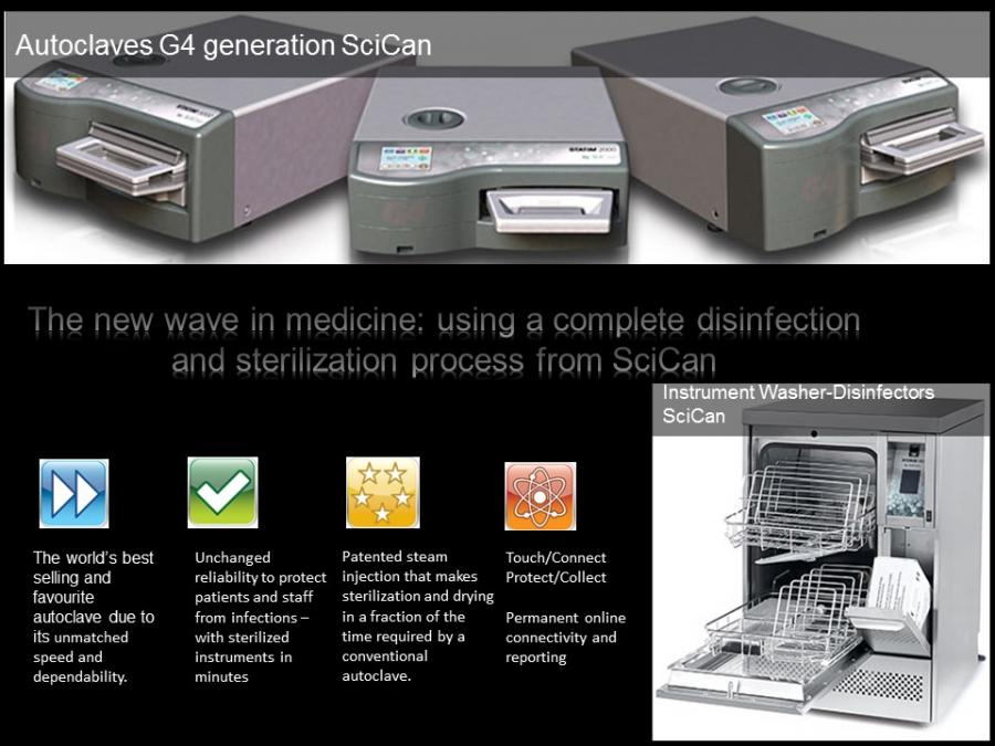 SciCan integrated system for disinfection and sterilization