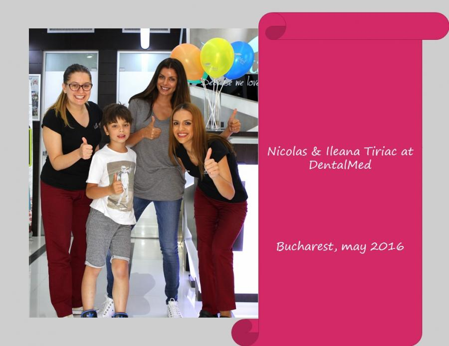 Nicolas & Ileana Tiriac at DentalMed Kids