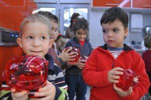 Gradinita Arici Pogonici in vizita la DentalMed Kids